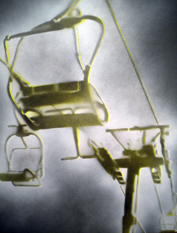 chair lift art