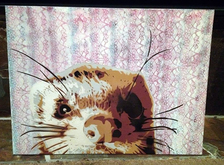 poly-spray-paint-stencil-art-cute-ferret