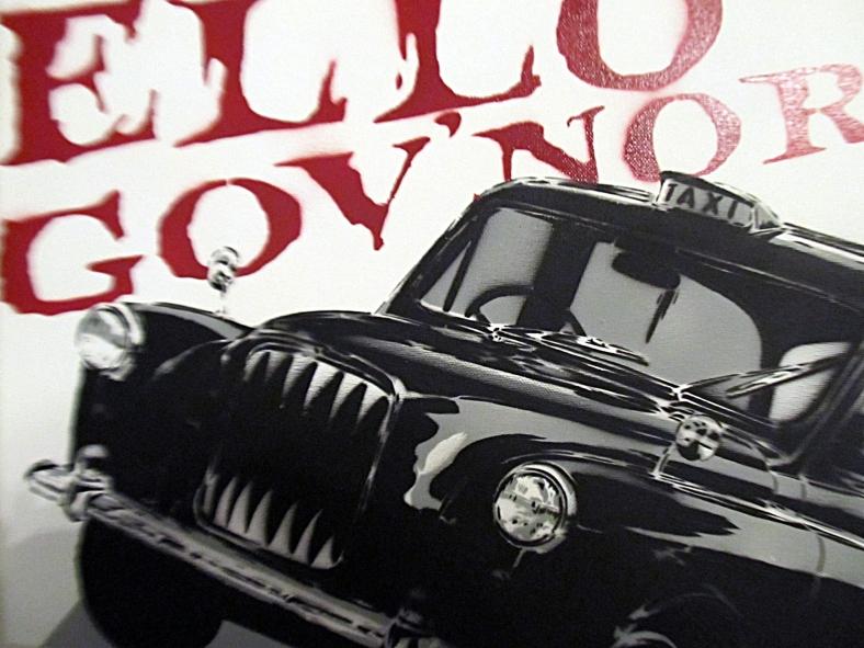 regular show Ello govnor taxi